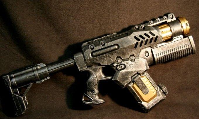 Custom Nerf Super Soaker Gun Modification Junk