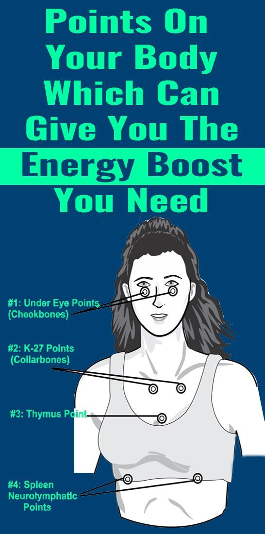 4 Points On Your Body Which Can Give You The Energ…