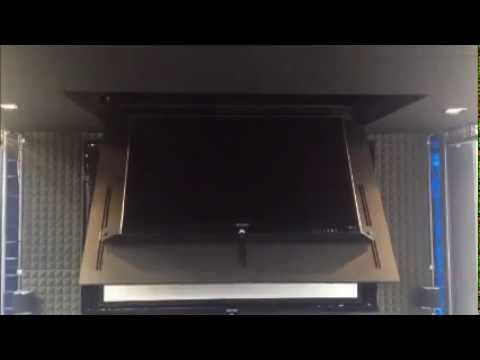 Best 25 tv brackets ideas on pinterest tv wall brackets for Motorized ceiling drop down tv mount