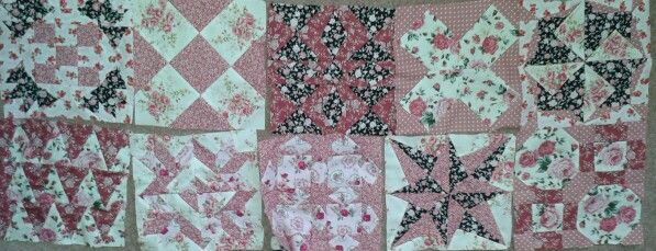 Some of my quilt blocks