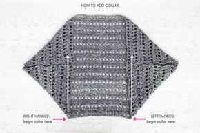 Fácil, Chunky Crochet Sweater - Padrão Livre de