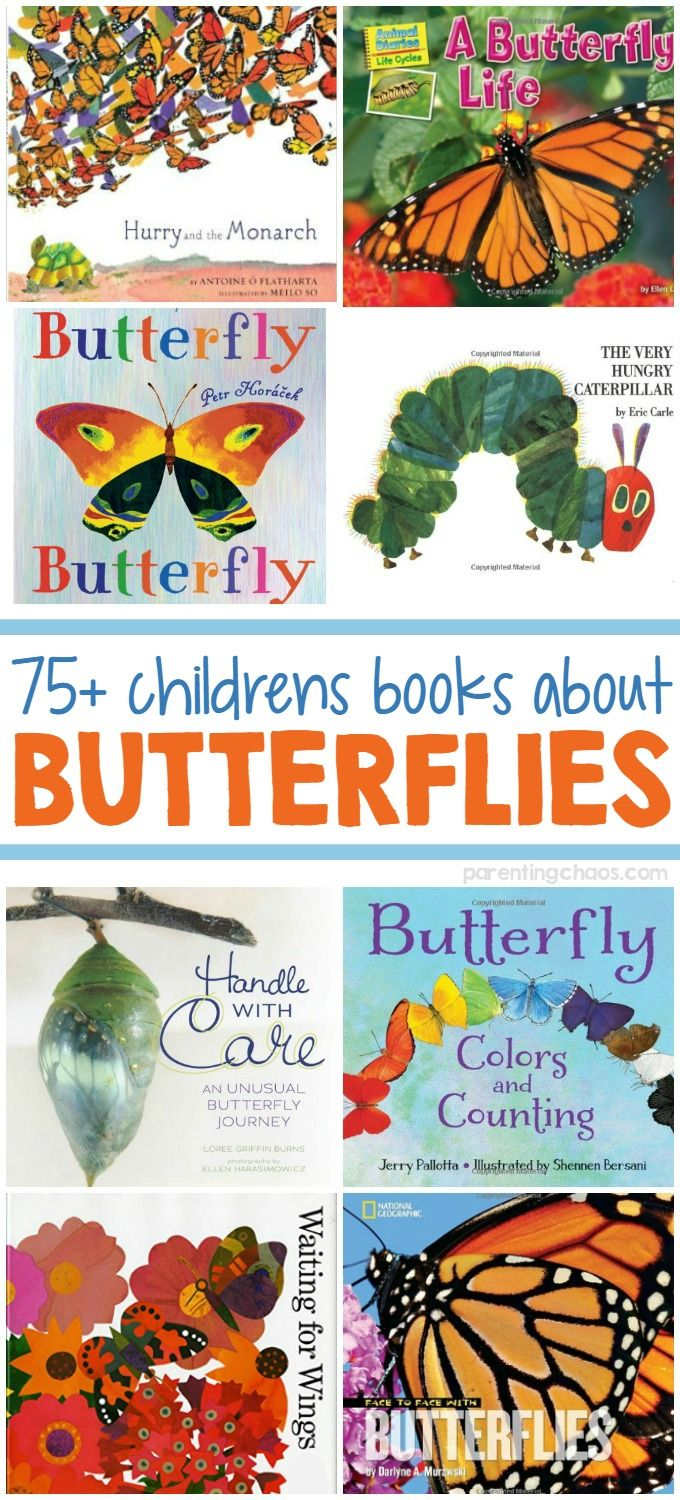 In this list of children's books about butterflies, you will find both non-fiction and fiction books that cover toddlers to mid-elementary reading levels.