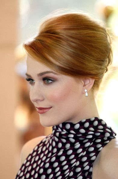 flawless evan rachel wood. Can anyone tell me how to do this hair style