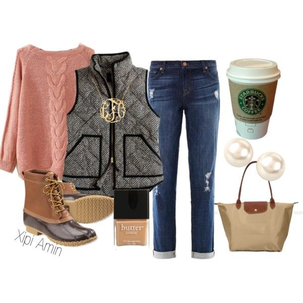 """Perfect Preppy Fall Fashion."" by xipiamin on Polyvore"