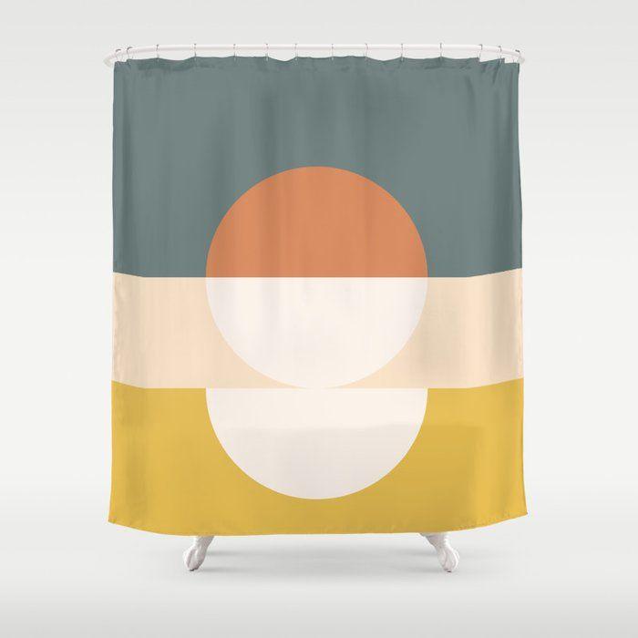 Buy Abstract 02 Shower Curtain By Theoldartstudio Worldwide
