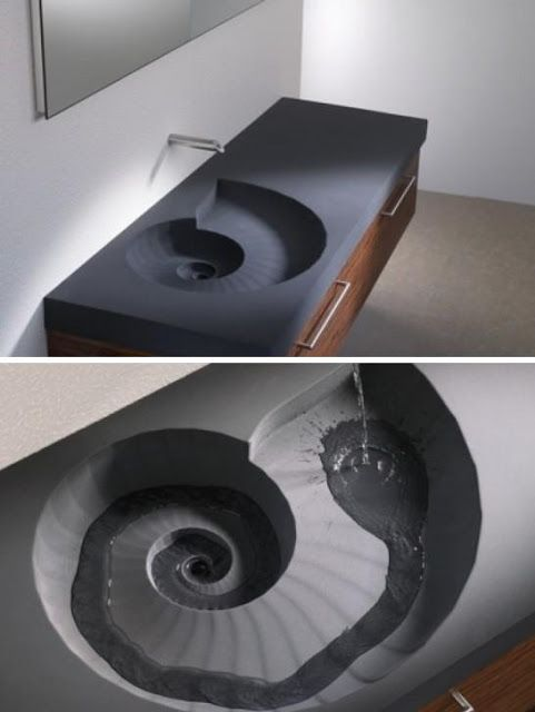 Collection of Creative bathroom washbasins and modern kitchen washbasin designs from all over the world.