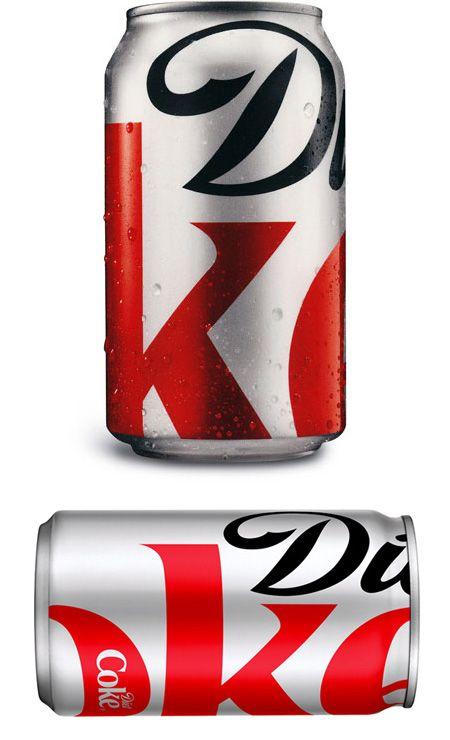 Minimal Diet CokePackaging