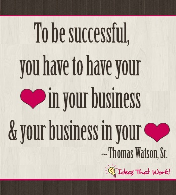 to be successful . . . quote