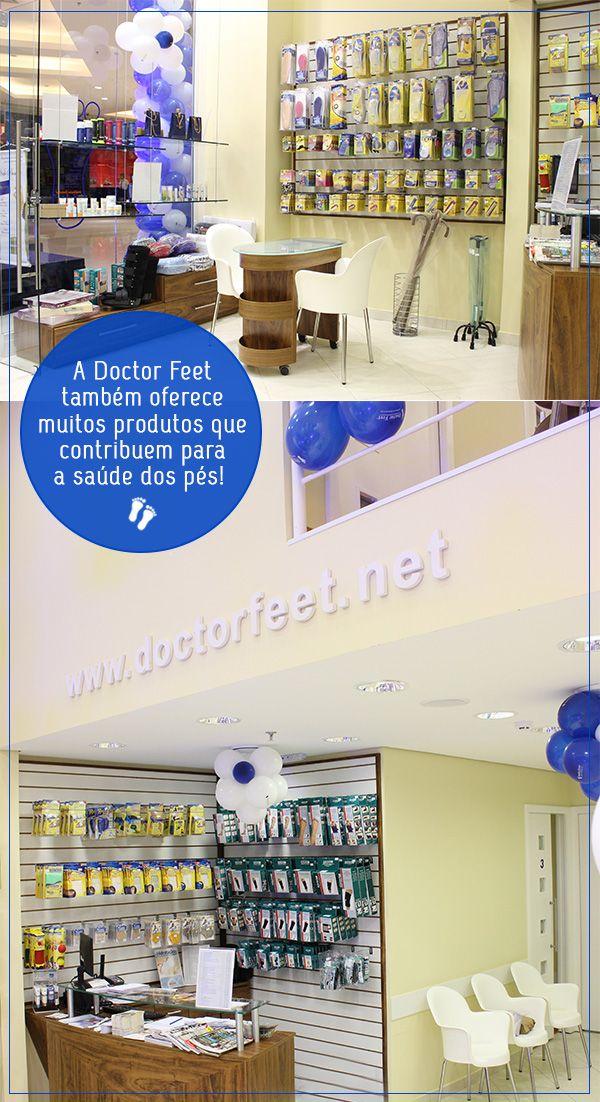 O Taguatinga Shopping acabou de inaugurar uma loja que é especialista em cuidados com os pés, a Doctor Feet! Clique na foto para ler o post completo.