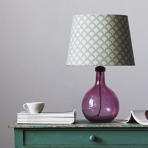 Elsa Table Lamp In Magenta