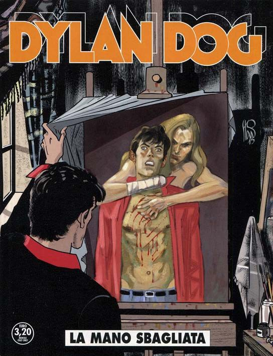 Dylan Dog n. 348 Cover di Angelo Stano #DylanDog #AngeloStano