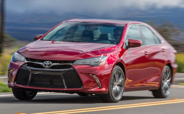 Sporty New 2015 Camry Rivals Ford's Fusion