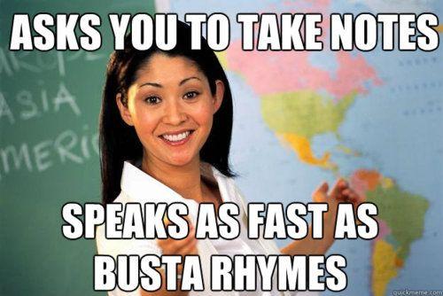 my science teacher