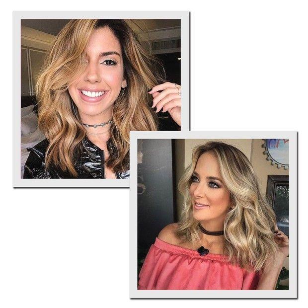 Camila Coutinho (à esquerda) e Tici Pinheiro (à direita) (Foto: Reprodução/Instagram/@romeufelipe)