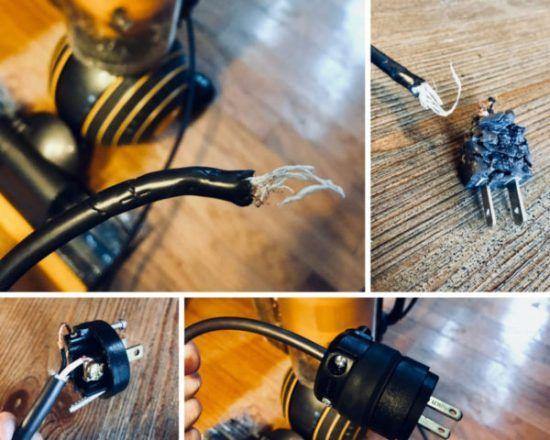Power Cord Repair, Chewed Power Cord | DIY help | Cord, Home