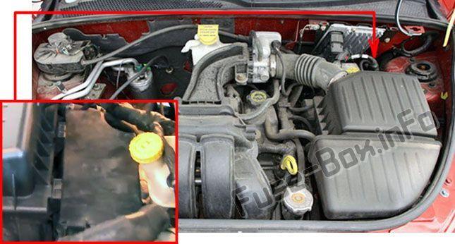 Chrysler Pt Cruiser 2001 2010 Fuse Box Location Chrysler Pt Cruiser Fuse Box Chrysler