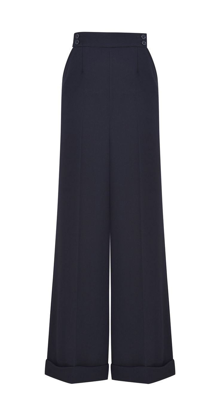 Archive by Alexa Ada Trousers, $64, available at Marks & Spencer. #refinery29 http://www.refinery29.com/2016/04/108229/alexa-chung-marks-spencer-collaboration#slide-10