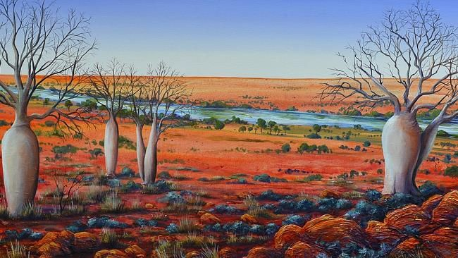 ELTHAM artist Linda MacAulay captures an iconic Australia with vibrancy and humour.