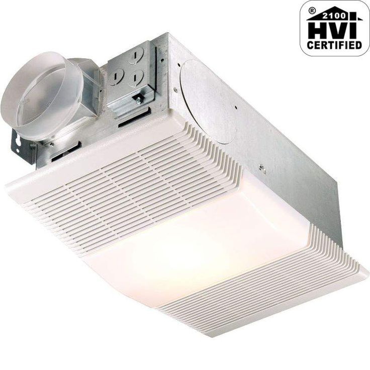 View The NuTone 665RP 70 CFM 4 Sone Ceiling Mounted HVI Certified Bath Fan  With Heater. Light BathroomBathroom ...
