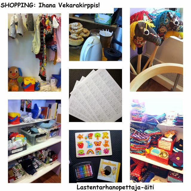 ostokset, lastenvaatteet, lastentarvikkeet, Vekarakirppis