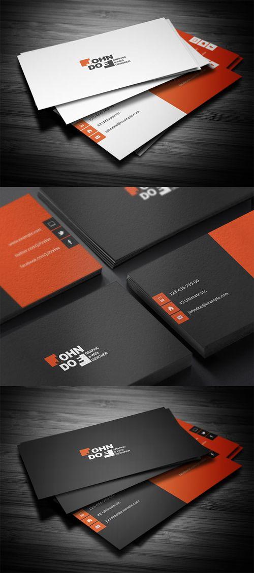 Creative Business Card #businesscards #businesscardstemplate #psdfiels…