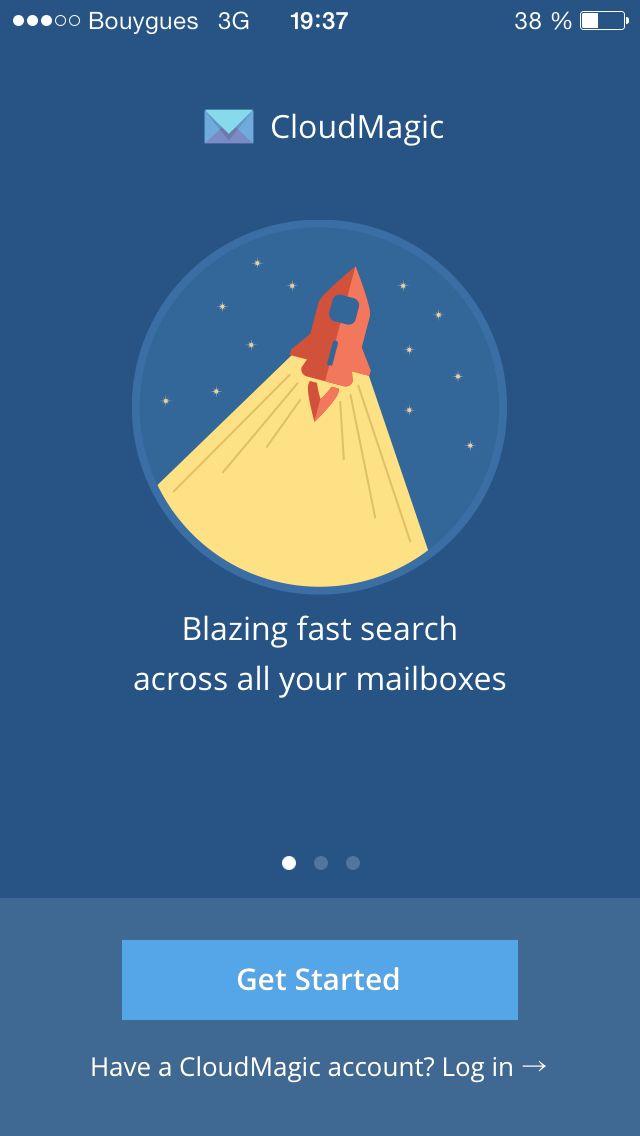 CloudMagic App iOS
