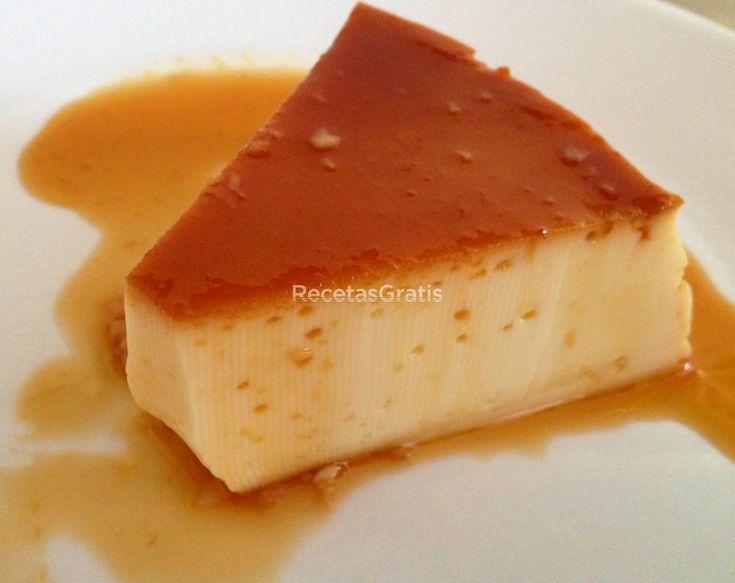 Receta de Flan de caramelo