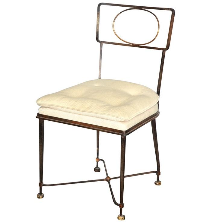 Fine Side Chair By Gilbert Poillerat. Gilbert Ou0027sullivanSide ...