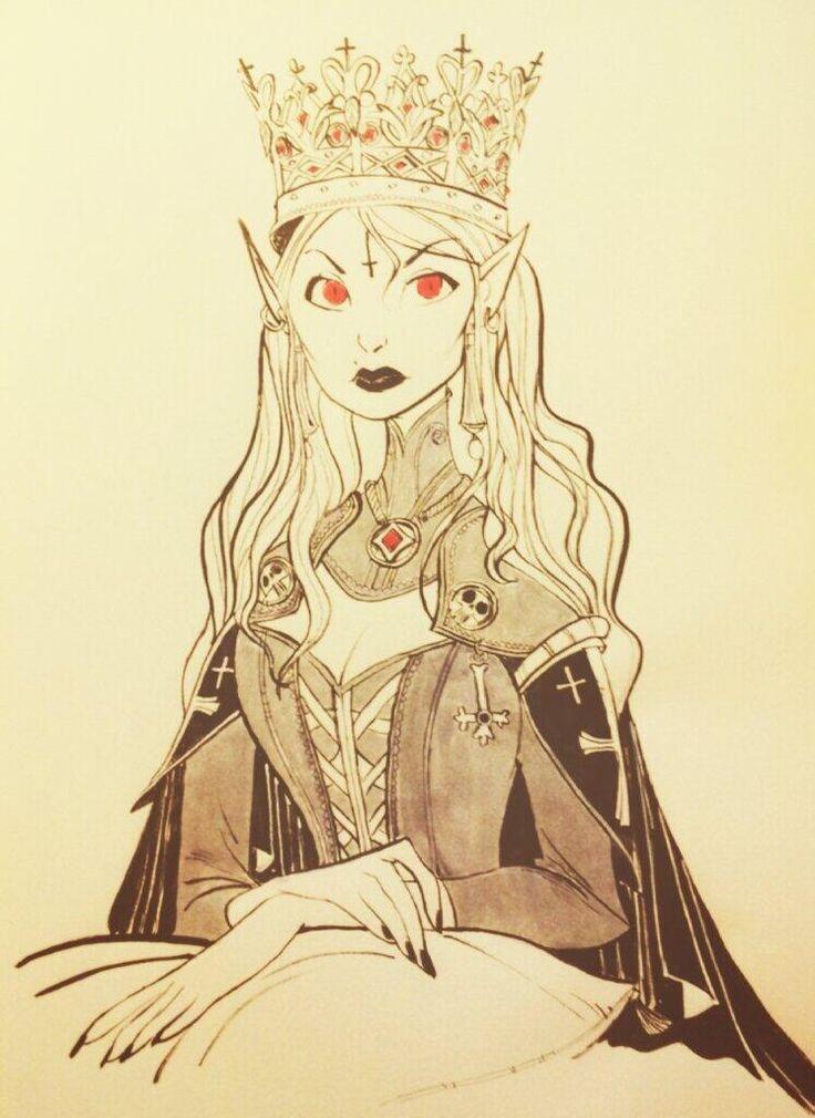 CoryLoftis: Vampire Queen for the lich ...