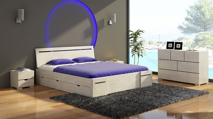 Znalezione obrazy dla zapytania nowoczesne sypialnie