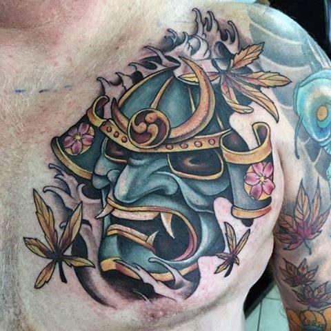 28 best Japanese Samurai Mask Tattoo images on Pinterest ...