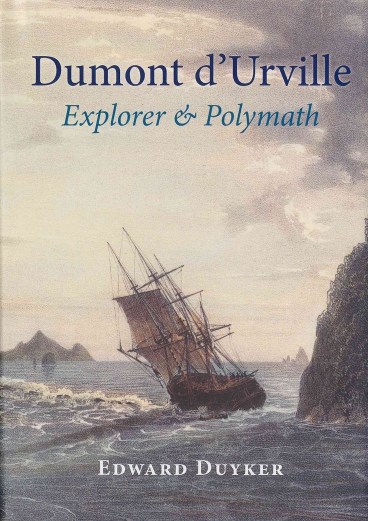 Explorer Jules-Sebastien-Cesar Dumont d'Urville (1790-1842) is sometimes called France's Captain Cook. Born less than a year after the beginning of the French Revolution, he lived through turbulent times. Check this and our other books out on our website! www.nationwidebooks.co.nz