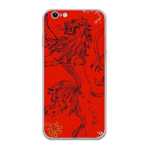 Red Lion iPhone Skin by hoganfinland at zippi.co.uk #lion #red #redlion #king #throne #animal #beast #fierce #brave #got #hearmeroar #roar #zippi #iphoneskins #iphone