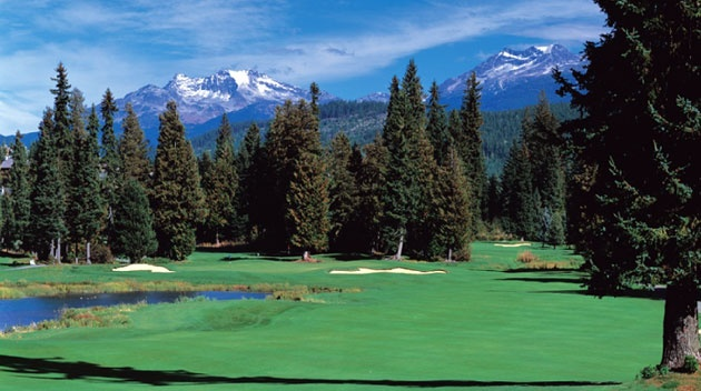 Whistler #Golf Club, located in the heart of #Whistler