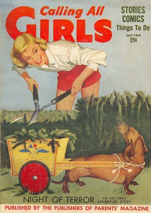 Calling All Girls - July 1958