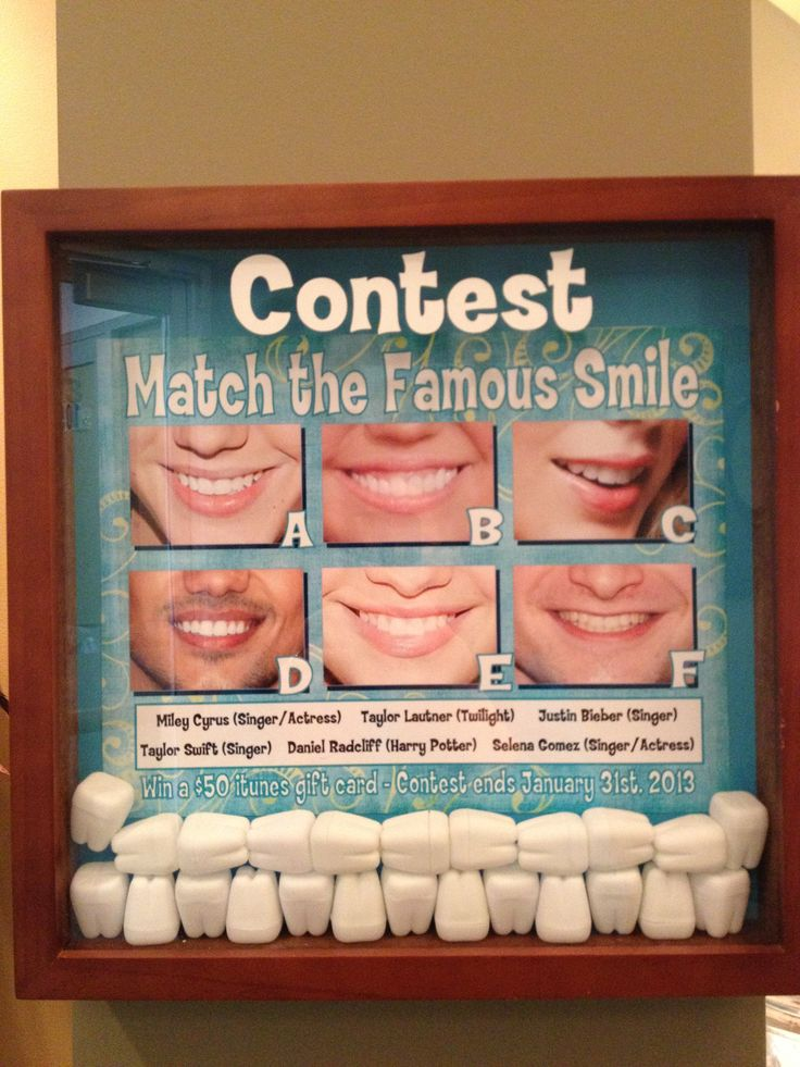 https://www.facebook.com/watsonortho January Lobby Contest. Smiles Contest
