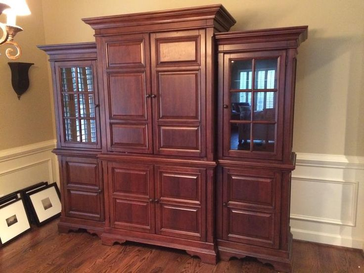 Classifieds  Entertainment Center For Sale 1d ago Alicia Bond from Polo Golf & Country Club Photo from Alicia Bond Beverly Hall Entertainment Center for sale. This is a large and very beautiful 4-piece entertainment center with lots of storage space. It has DVD racks in all the bottom cabinets as well as shelving. The display cases are both lighted. We love this piece and hate to part with it but have no space for it in our new house. $900 OBO.