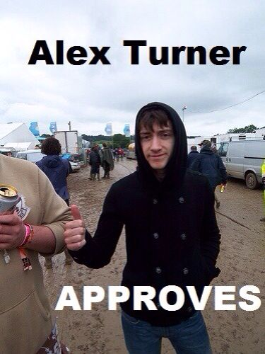 Alex Turner Approves my unhealthy obsession