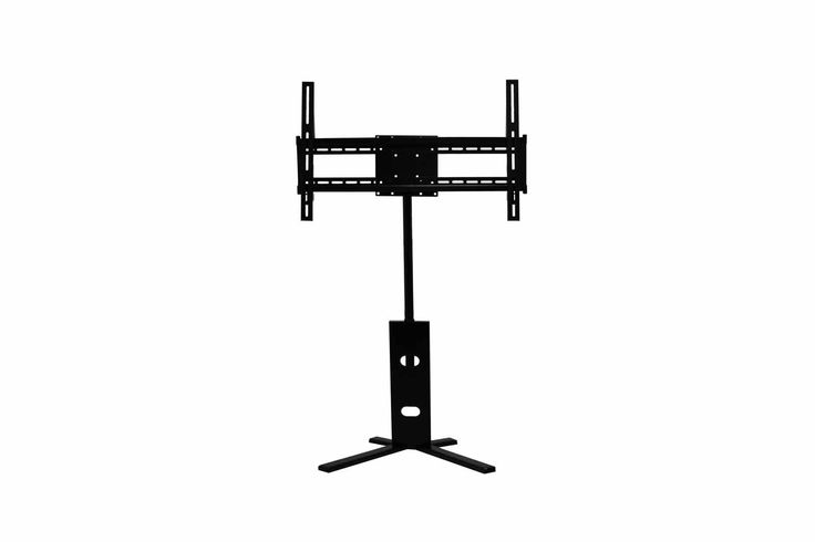 """TechCraft LAV8R Adjustable Flat Panel Display. Weight Capacity: 109 Lbs. Features up to 6 11/16"""" of adjustability. Holds up to 60"""" displays. Compatible with VESA mount standards (200, 180, 120, 100, 75)."""