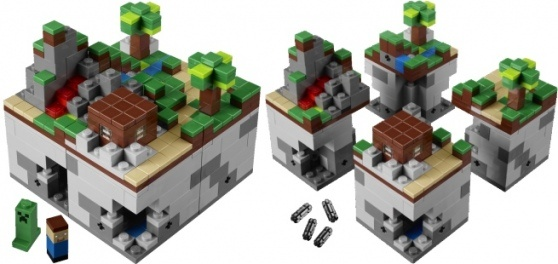 Minecraft official LEGO set