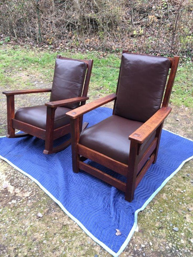 ... furniture barber chair rockers it was forward limbert rocker and chair