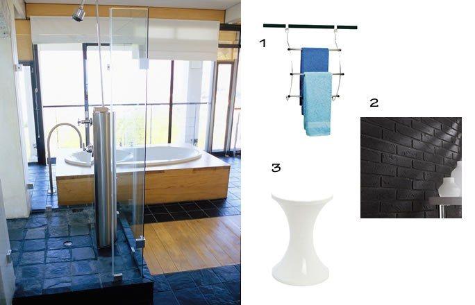 Id e d co salle de bain contemporaine 5 ambiances de for Design salle de bain contemporaine
