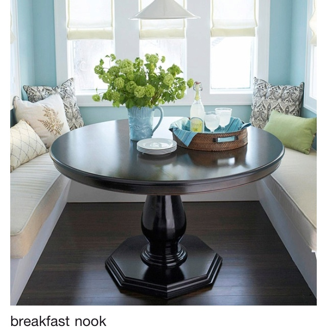 Breakfast Nook Round Table