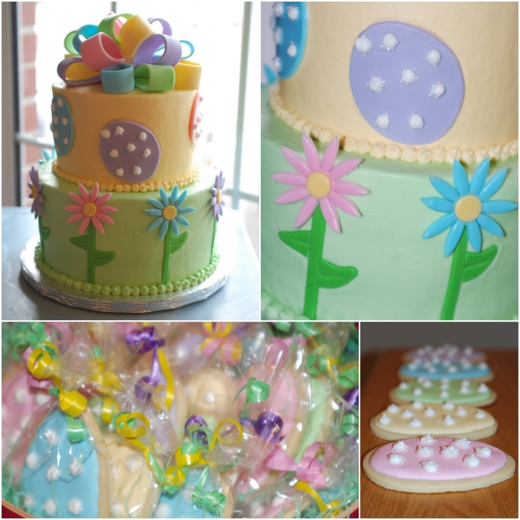 fondant cakes easter - Google Search Shannon s Board ...