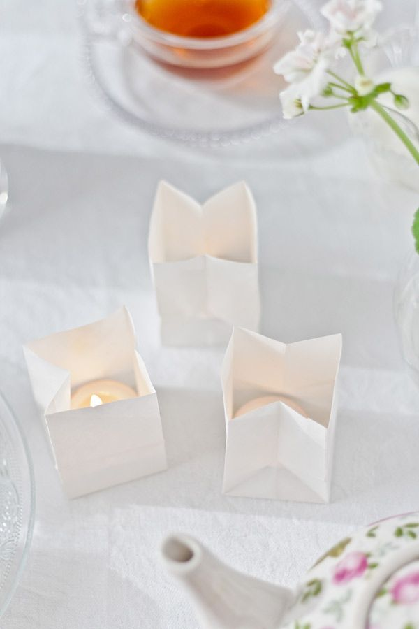 Candlelights of ricepaper