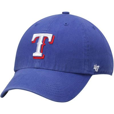 Texas Rangers '47 Brand Basic Logo Clean Up Game Adjustable Hat - Royal