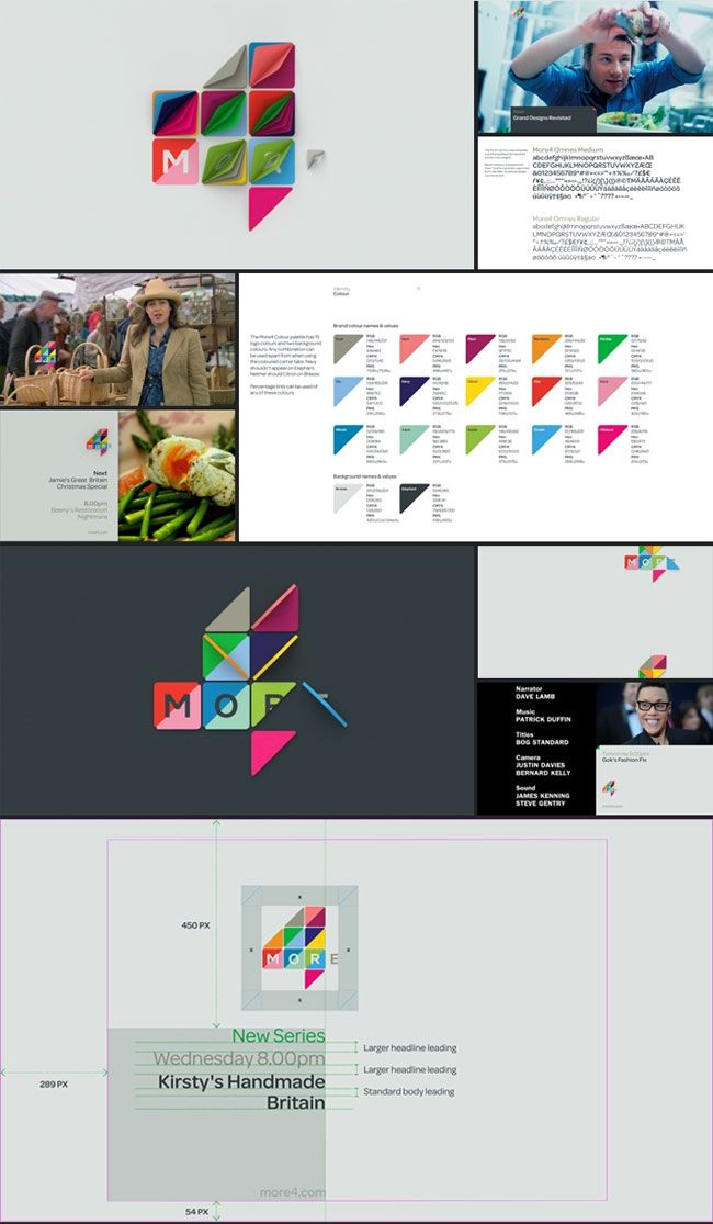 Brand identity for More4