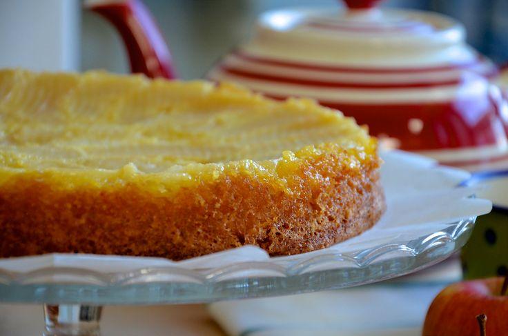 Jablečný koláč s francouzským šarmem #Francouzský, #Jablka, #Jednoduché, #Koláč…