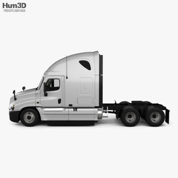 Freightliner Cascadia Sleeper Cab Tractor Truck With Hq Interior 2007 Freightliner Cascadia Freightliner Trucks