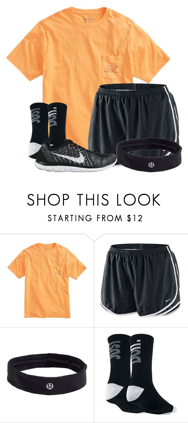 """Today we had our homecoming Olympics and the sophomores won!! I scored the winning touchdown for football:)"" by flroasburn ❤ liked on Polyvore featuring NIKE and lululemon"